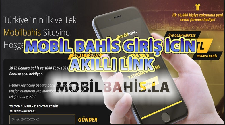 Mobil Bahis Giriş için Akıllı Link