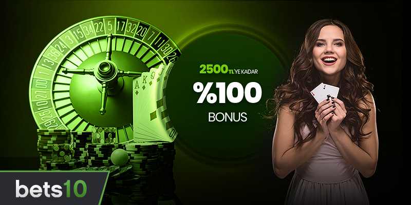 2500 TL Canlı Casino Bonusu