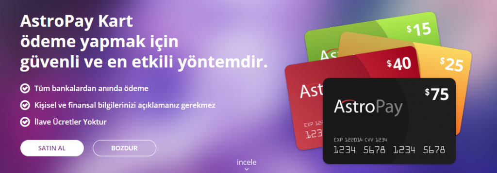 Astropay Türkiye de Geçerli mi